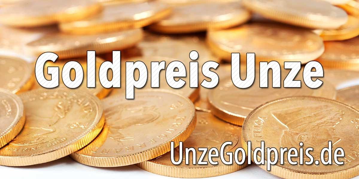 Goldpreis Unze