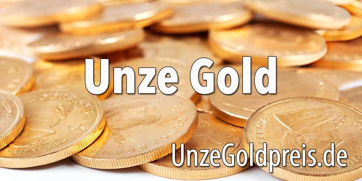 Unze Gold