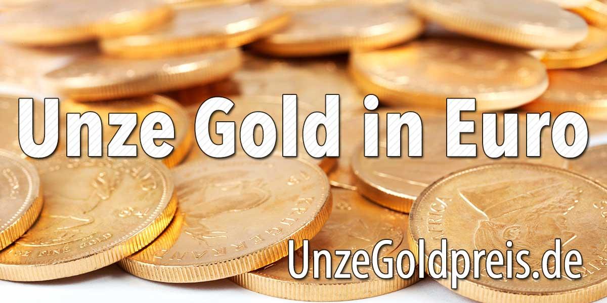 Unze Gold in Euro