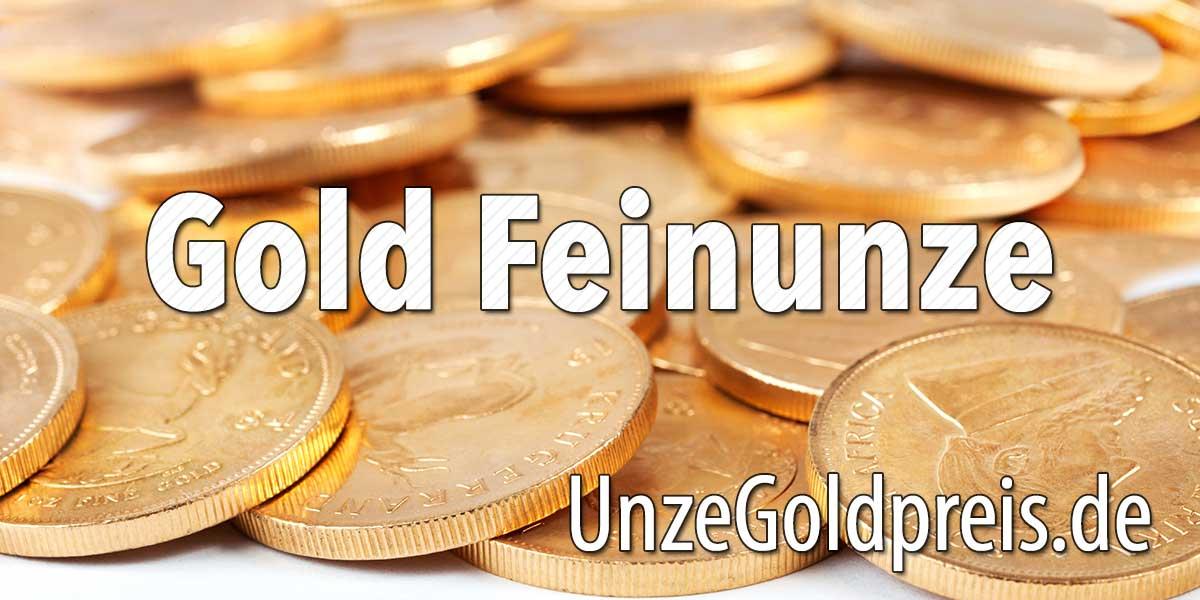 Gold Feinunze
