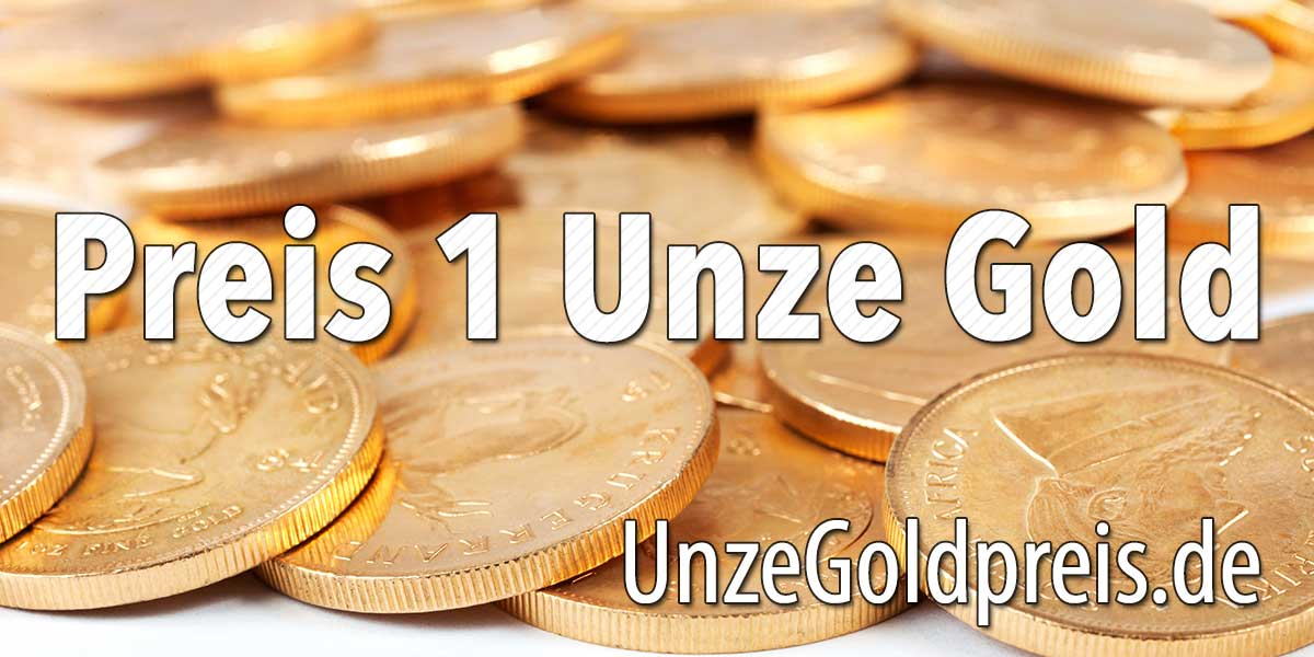 Preis 1 Unze Gold