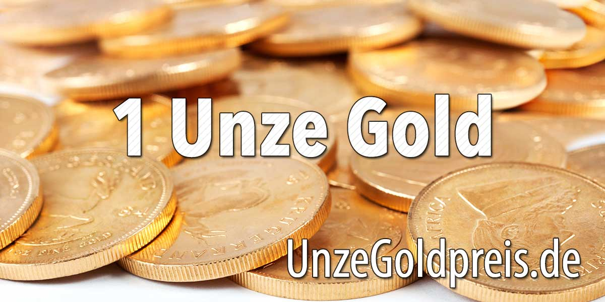 1 Unze Gold