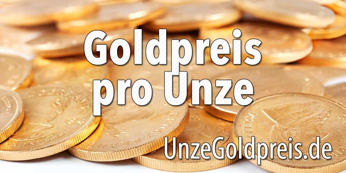 goldpreis 1 unze