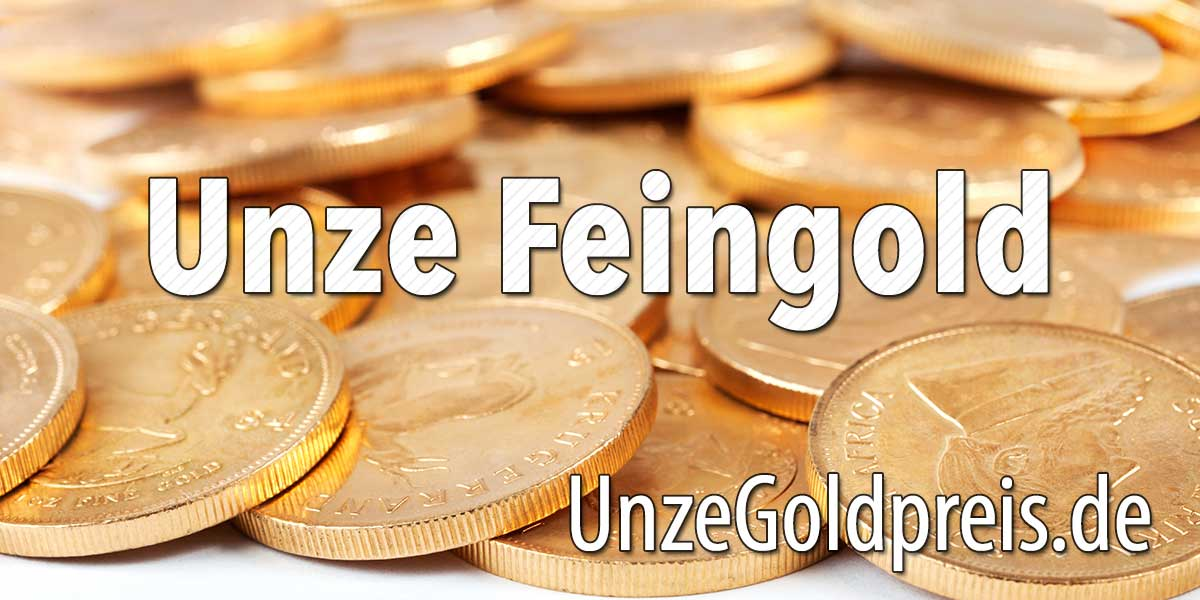 Gold Feinunze