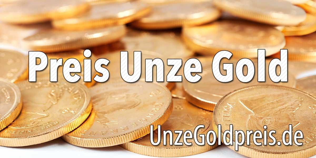 Preis Unze Gold