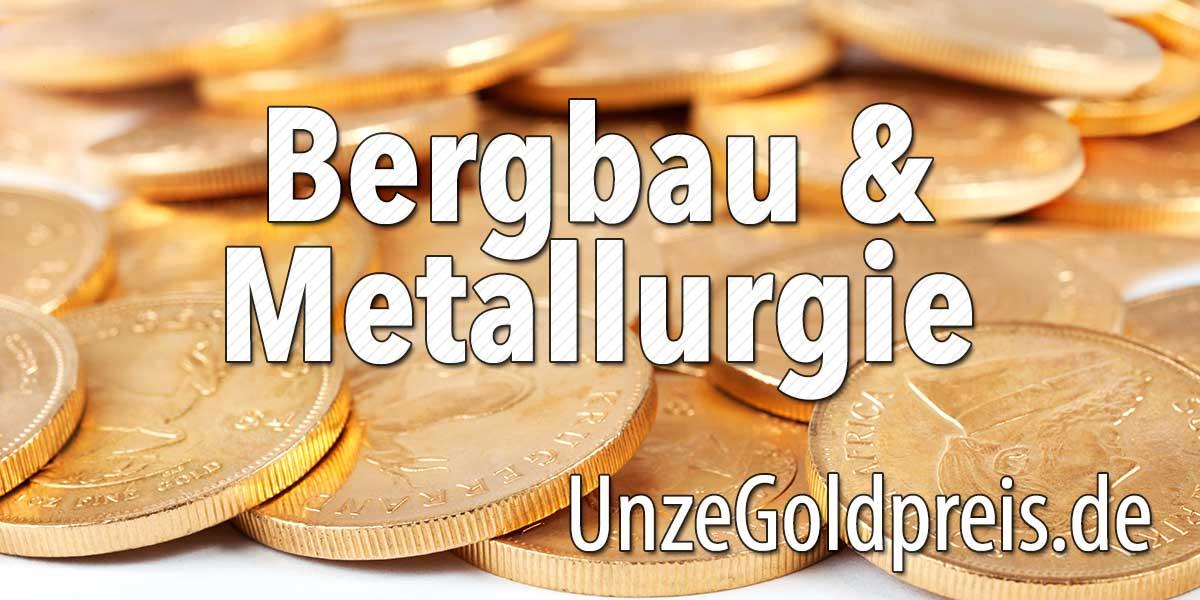 Unternehmen Bereich Bergbau und Metallurgie